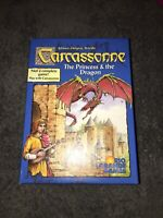 CARCASSONNE~THE PRINCESS & THE DRAGON~ RIO GRANDE GAMES 2007~EXPANSION PACK