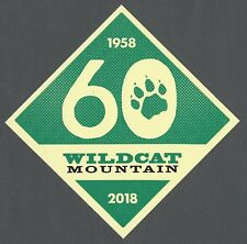 WILDCAT MOUNTAIN NEW HAMPSHIRE SKI SNOWBOARD RESORT AREA STICKER DECAL