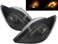207 2006-2014 LED BAR Feux Arrieres HATCHBACK V1 BLACK for PEUGEOT