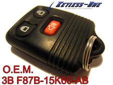 99-10 FORD F150 F-150 KEYLESS ENTRY REMOTE OEM KEY FOB 3B:F87B-15K601-AB 4B BB