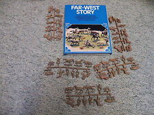 Atlantic 1/72 Box# 1560 Far West Story Cowboys and work on ranch RARE