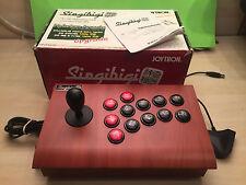 Joystick Arcade Singibigi joytron cuerpo de madera
