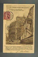 1906 Nantes France Postcard cover to Canada Old Town View