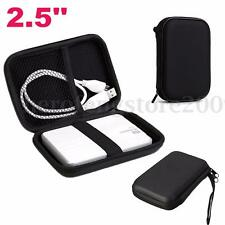 """Portable Zipper Case Bag Pouch Protector For 2.5"""" WD Seagate HDD Hard Disk Drive"""