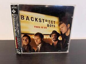 This Is Us  Backstreet Boys CD (JAPAN VERSION)