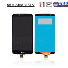 Black for LG Stylo 3 Stylus LS777 LCD Digitizer Display Screen Touch Replacement