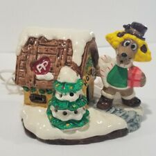 Pound Puppies Ceramic Lighted House Tonka Vintage 1987 Retro Cartoons