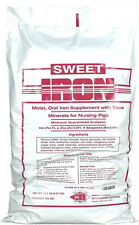 Sweet Iron Oral Supplement for Nursing Piglets Controls Anemia 12.5lb. Bag