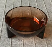 Iittala Glass Finland New Kuru 2020 colection bowl 130x60 mm. Seville Orange.