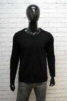 Maglia Uomo Blauer Taglia S Maglietta Viscosa Shirt Man T-Shirt Nera Maglione