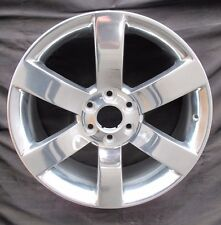 "20"" NEW CHEVROLET TRAILBLAZER SS GMC ENVOY FACTORY SPEC POLISHED WHEEL RIM 5254"