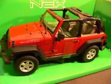 1/24 Welly Jeep Wrangler 2007 rot 22489