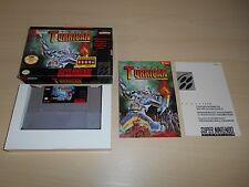Super Turrican Complete SNES Super Nintendo Game Original CIB Rare