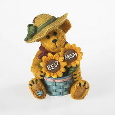 """Boyds Bearstone Collection """"Mama Bearybloom"""" - NEW"""