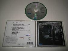 G.PH.TELEMANN/THREE CANTATAS(CPO/777 249-2)CD ALBUM