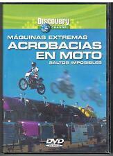 ACROBACIAS EN MOTO - MAQUINAS EXTREMAS - SALTOS IMPOSIBLES - DISCOVERY CH. - DVD