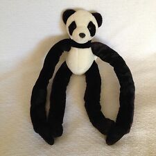 Animal Alley Panda Bear Plush Adjustable Arms Legs Limbs Black White Teddy Toy