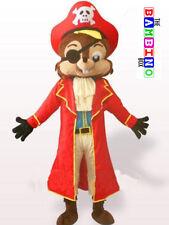 Pirate Chipmunk - Kids Mascot Costume Fancy Dress Cartoon Chipmunks Squirrel