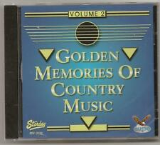 "GOLDEN MEMORIES OF COUNTRY MUSIC, CD ""VOLUME 2"" NEW SEALED"