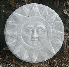 CASTING MOLD  plastic Sun plaque mold concrete plaster casting garden mould