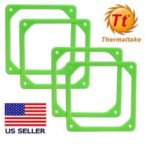 Lot of (4) Thermaltake 80mm Fan Vibration Dampener Kit 2x2-Packs US Seller