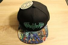 DC Comics The Joker Ha Ha Flat Bill Adjustable Snapback Hat Cap OSFM Adult