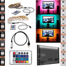 5V 5050 RGB LED Strip Light Bar TV Background Lighting Kit + USB Remote Control