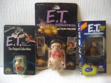 "1982 Vtg E T Extra Terrestrial Figures 3 pc Lot LJN Kraft Action Bendable 2""- 4"""
