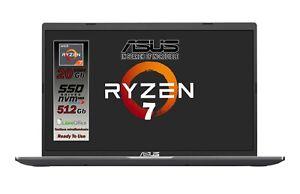 """ASUS Ryzen 7 5700U 20GB RAM 512 GB NVMe 15.6""""FHD Win 10 Tastiera retroilluminata"""