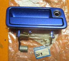 original Mazda 323 (BG) B481-58-410B-6W,Griff,Türgriff,vorne,blau