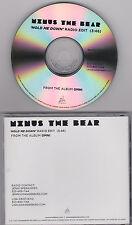 MINUS THE BEAR - HOLD ME DOWN - 2011 CD SINGLE