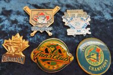 5  Vintage Toronto Blue Jays Pin Backs
