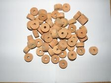 "100 CORK RINGS OVERSTOCK FLOR 1""X1/2"" BORE 1/4"" - FREE SHIP WORLDWIDE!!!!"