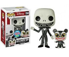 The NIGHTMARE BEFORE CHRISTMAS-JACK SKELLINGTON & vampiri Teddy-Funko Pop!