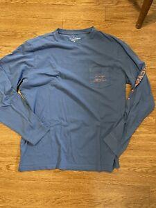 Vineyard Vines Men's  Long Sleeve T- Shirt Size M