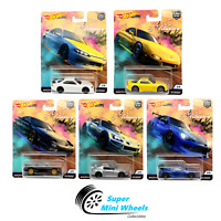 Hot Wheels Premium 2019 Car Culture Street Tuners Set of 5 Cars