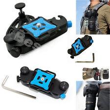 Fast Waist Backpack Belt Camera Clip Buckle Mount Quick For Canon Nikon DSLR