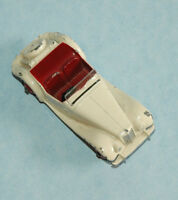 DINKY Meccano original 1954 MG MIDGET TF #129 Export Version US market WHITE