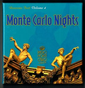 MONTECARLO NIGHTS - NOUVEAU BEAT VOLUME 4 - 2xCD BOX SET - 2005 - RARO
