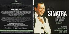 DVD Frank SINATRA Nancy Ella Fitzgerald Jobim A Man And His Music Trilogy