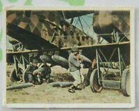 1wk Bild sammelbild zigarettenbild 1918 Flugzeug Bomber ST