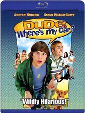 DUDE WHERE'S MY CAR New Sealed Blu-ray Ashton Kutcher Seann William Scott