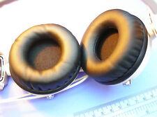 2 grandi orecchio cuscini in similpelle 75 mm per PANASONIC rp-djs400