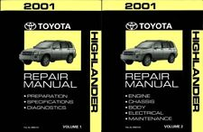 repair manuals \u0026 literature for toyota highlander for sale ebayToyota Highlander Electrical Wiring Diagram Manual Pdf Download 2001 #18