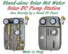 Off-grid Stand-alone Solar Hot Water DC Pump Station Run By PV Soalr Panel