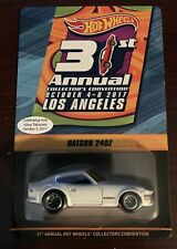 New ListingHot Wheels 31st L.A. Convention Datsun 240z #0425 W/Sticker Low Number