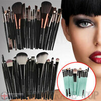 22 PEZZI PROFESSIONALE TRUCCO set pennelli fondotinta Ombretto Makeup accessori