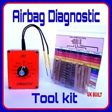 Garage mechanics tools kit AIRBAG RESISTOR repair / bypass trace SRS car faults