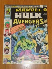 MIGHTY WORLD OF MARVEL #199 VG (4.0) 21ST JULY 1976 BRITISH WEEKLY 1ST WOLVERINE