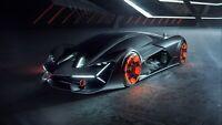 "Lamborghini Terzo Millennio Auto Car Art Silk Wall Poster Print 24x36"""